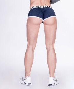 Fitness Shorts Blauw - Nebbia Shorts 266-2