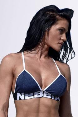 Fitness Top Blauw - Nebbia Bra 267-1