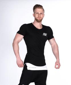 Nebbia T-Shirt Zwart