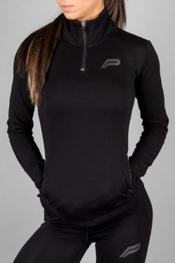 Fitness Jacket Zwart - Pursue Fitness-1