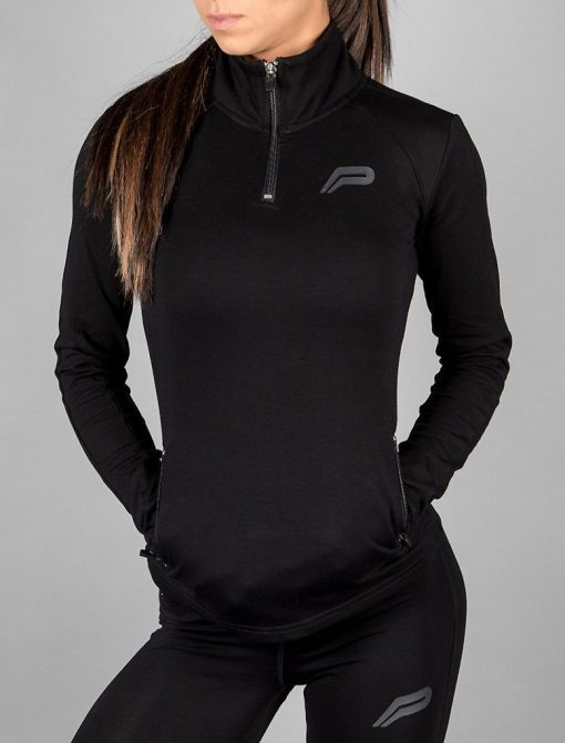 Fitness Jacket Zwart - Pursue Fitness-1