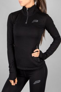 Fitness Jacket Zwart - Pursue Fitness-2