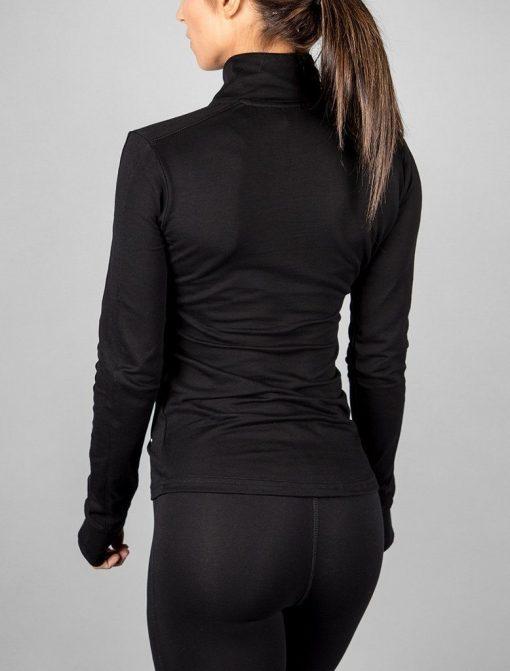 Fitness Jacket Zwart - Pursue Fitness-3