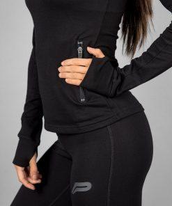 Fitness Jacket Zwart - Pursue Fitness-4