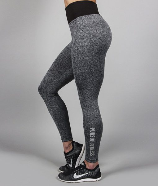 Fitness Legging Essential Heather - Pursue Fitness-3