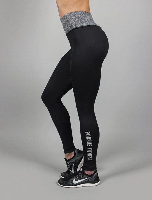 Fitness Legging Essential Zwart - Pursue Fitness-2