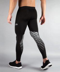 Fitness Legging Mannen Zwart - Pursue Fitness achterkant