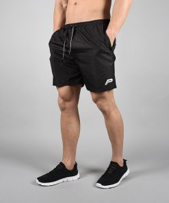 Fitness Shorts Elevate Zwart-Wit - Pursue Fitness-1