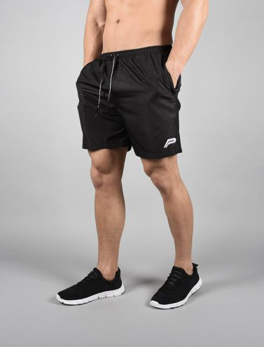 Fitness Shorts Elevate Zwart-Wit - Pursue Fitness-1