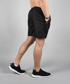 Fitness Shorts Elevate Zwart-Wit - Pursue Fitness-2
