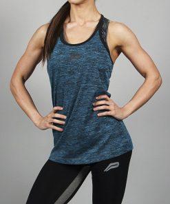 Fitness Singlet Blauw - Pursue Fitness-1
