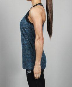 Fitness Singlet Blauw - Pursue Fitness-3