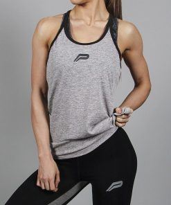Fitness Singlet Grijs - Pursue Fitness-1