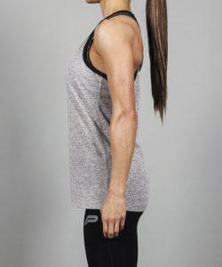 Fitness Singlet Grijs - Pursue Fitness-3
