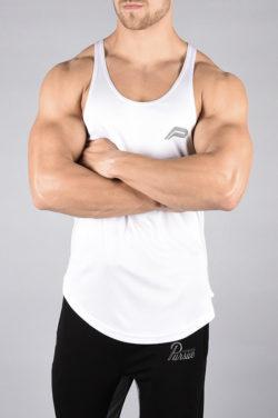 Fitness Stringer BreathEasy Wit - Pursue Fitness voorkant