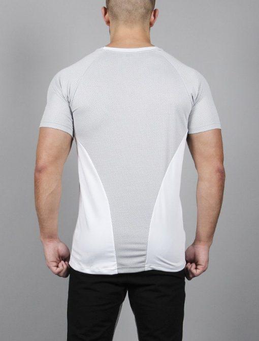 Fitness T-shirt BreathEasy Wit - Pursue Fitness achterkant