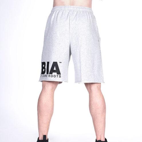 Fitness Shorts Grijs Nebbia Shorts 343 achterkant