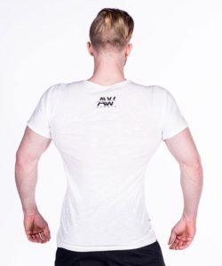 Nebbia V-neck T-Shirt 127 – Bodybuilding T-Shirt Wit-2