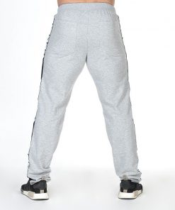 Bodybuilding Sweatpants Grijs - Nebbia Sweatpants 366 achterkant
