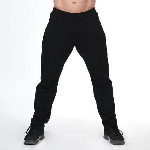 Bodybuilding Sweatpants Zwart Nebbia Sweatpants 366 voorkant