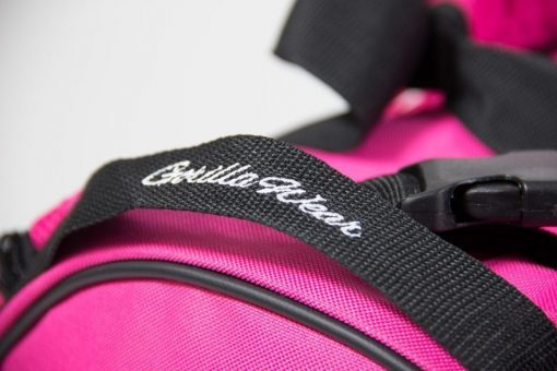 bodybuilding-tas-roze-zwart-gorilla-wear-santa-rosa-gym-bag-detail-3
