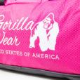 bodybuilding-tas-roze-zwart-gorilla-wear-santa-rosa-gym-bag-detail-5