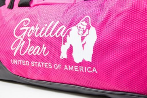 bodybuilding-tas-roze-zwart-gorilla-wear-santa-rosa-gym-bag-detail-5