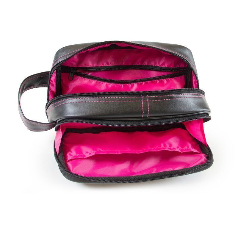 Gym Bag Gorilla Wear: Bodybuilding Toilettas Zwart Roze