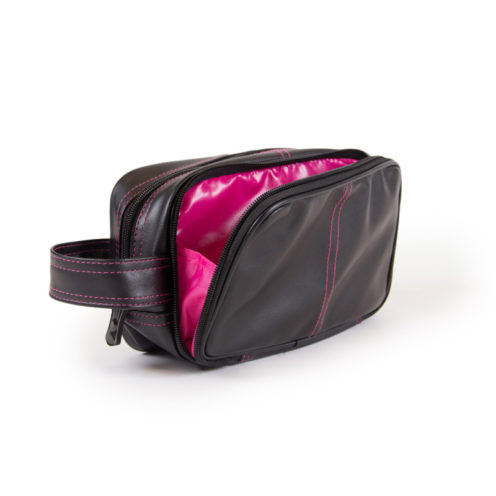 bodybuilding-toilettas-zwart-roze-gorilla-wear-toiletry-bag-binnenkant
