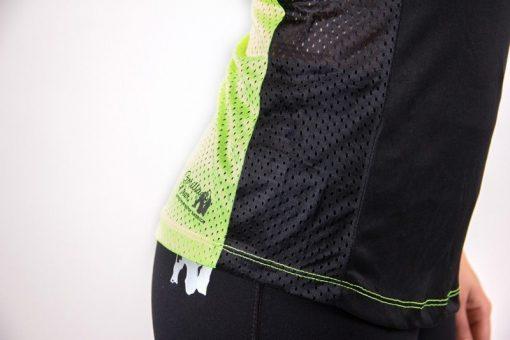 dames-tank-top-zwart-groen-gorilla-wear-marianna-detail-1