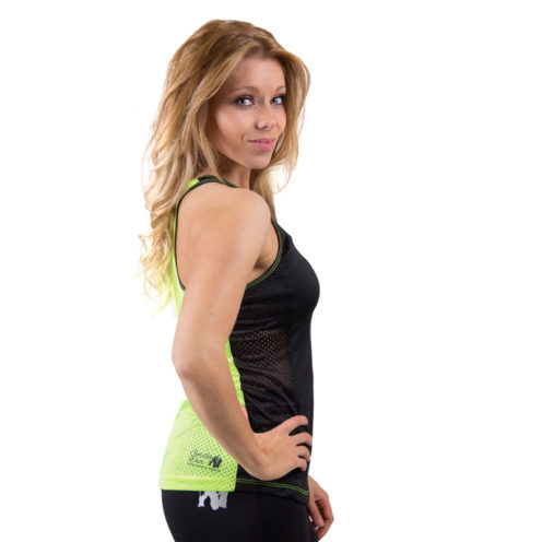 dames-tank-top-zwart-groen-gorilla-wear-marianna-zijkant-1