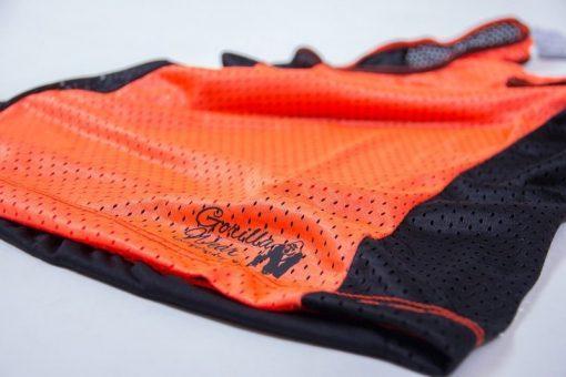 dames-tank-top-zwart-oranje-gorilla-wear-marianna-detail-2