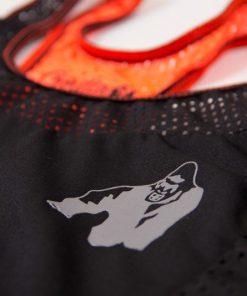 dames-tank-top-zwart-oranje-gorilla-wear-marianna-detail-3