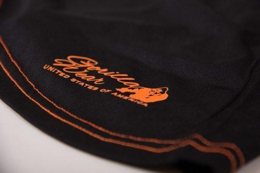 dames-tank-top-zwart-oranje-gorilla-wear-marianna-detail-4
