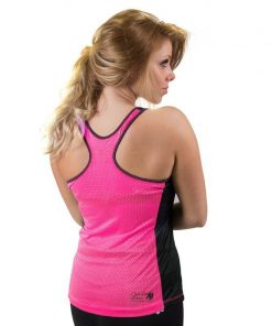 dames-tank-top-zwart-roze-gorilla-wear-marianna-achter-1