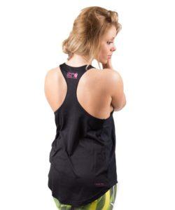 dames-tank-top-zwart-roze-gorilla-wear-santa-monica-achter-1
