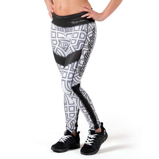 fitness-legging-zwart-wit-gorilla-wear-pueblo-voorkant-1