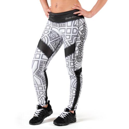 fitness-legging-zwart-wit-gorilla-wear-pueblo-voorkant-2