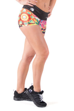 fitness-short-multicolor-mix-gorilla-wear-venice-voor-2