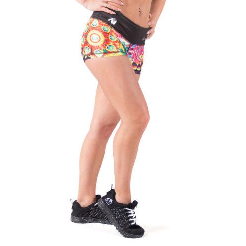 fitness-short-multicolor-mix-gorilla-wear-venice-voor-2