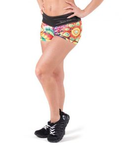 fitness-short-multicolor-mix-gorilla-wear-venice-voor-3