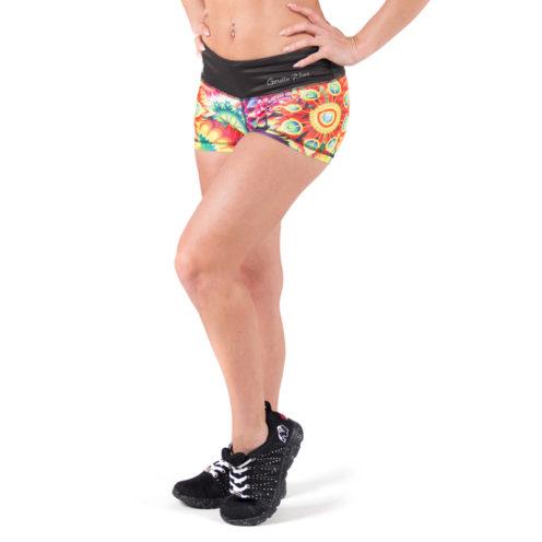 fitness-short-multicolor-mix-gorilla-wear-venice-voor-3