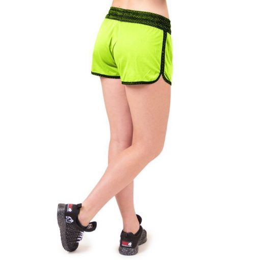 fitness-short-zwart-groen-gorilla-wear-madison-reversible-r-achter-3