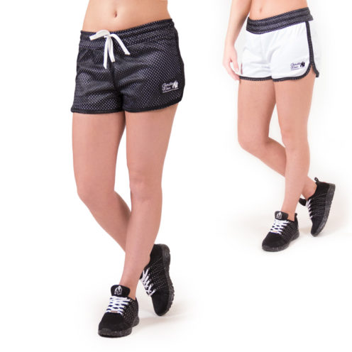 fitness-short-zwart-wit-gorilla-wear-madison-reversible-beide-1