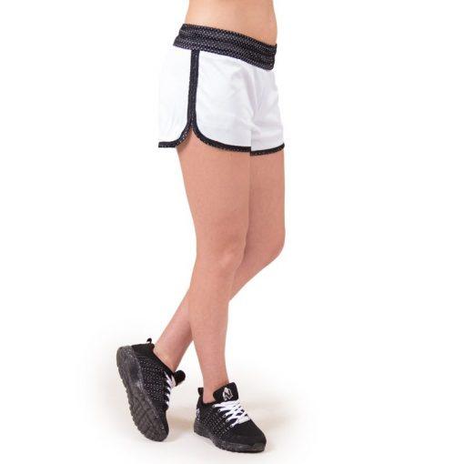 fitness-short-zwart-wit-gorilla-wear-madison-reversible-r-voor-4
