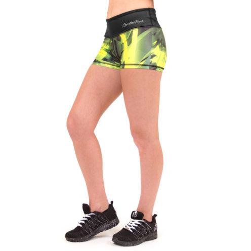 fitness-shorts-geel-gorilla-wear-reno-hotpants-voorkant-2