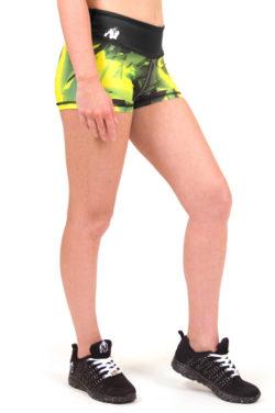 fitness-shorts-geel-gorilla-wear-reno-hotpants-voorkant-3