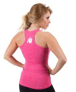 fitness-t-shirt-roze-gorilla-wear-leakey-achter-1