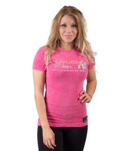 fitness t-shirt vrouwen roze - Gorilla Wear Camden