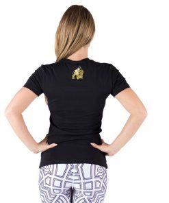 fitness-t-shirt-zwart-goud-gorilla-wear-luka-achter-2